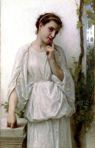 William Adolphe Bouguereau - Rêverie