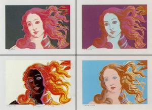 Andy Warhol - Botticelli