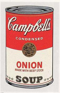 Andy Warhol - Campbell'S soupe can ( oignon )