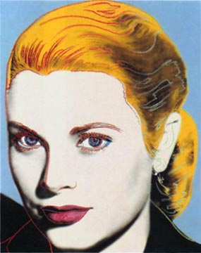 famous painting la grâce of Andy Warhol
