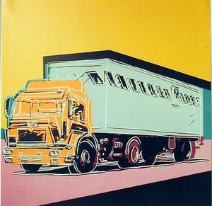 Andy Warhol - Annonce Camion