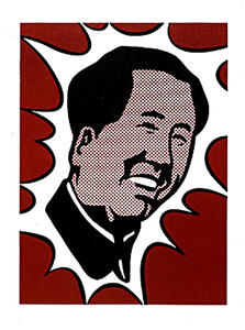 Roy Lichtenstein - Mao