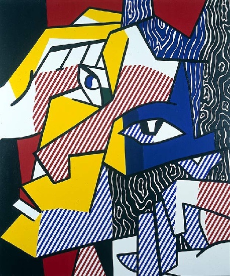 famous painting expressionniste chef 2   of Roy Lichtenstein