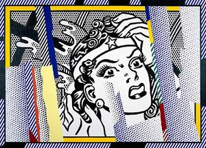 Roy Lichtenstein - Réflexions Wonder Woman