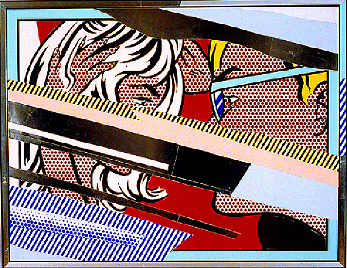 famous painting réflexions sur conversation of Roy Lichtenstein