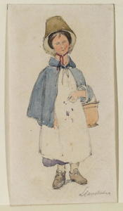 David Cox - Jeune Welsh Girl 1