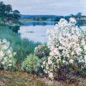 Willard Leroy Metcalf - Kalmia