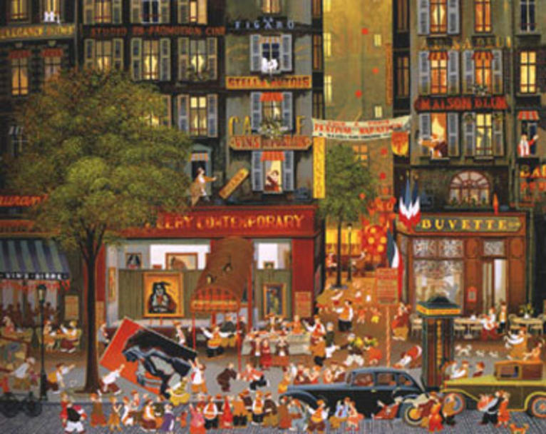 famous painting exposition of Hiro Yamagata