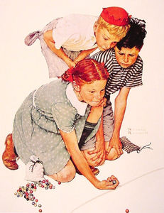 Norman Rockwell - Marbre Champion