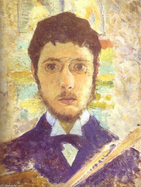 famous painting portrait d'individu of Pierre Bonnard