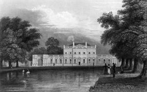 William Hoare - Boreham Maison, Essex, gravée par John Rogers,
