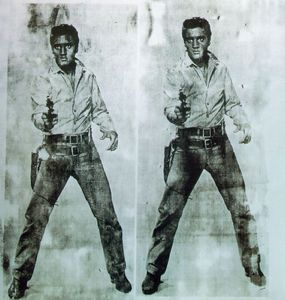 Andy Warhol - à double elvis
