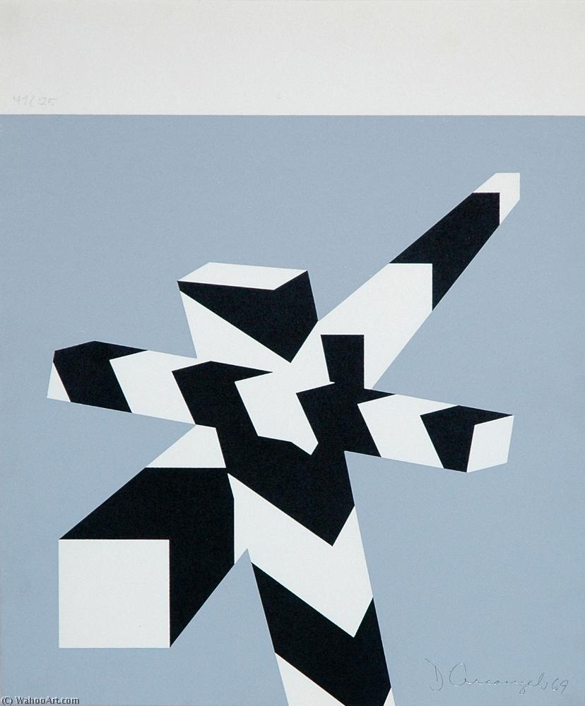 famous painting Avril of Allan D'arcangelo