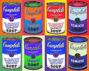Andy Warhol - chez campbell