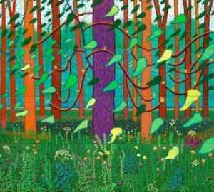 David Hockney - une plus gros