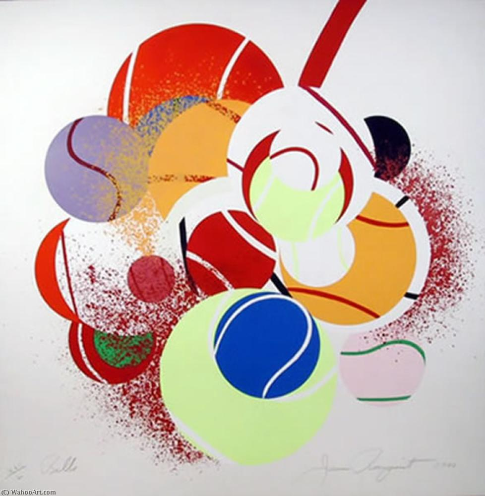 famous painting balles of James Rosenquist