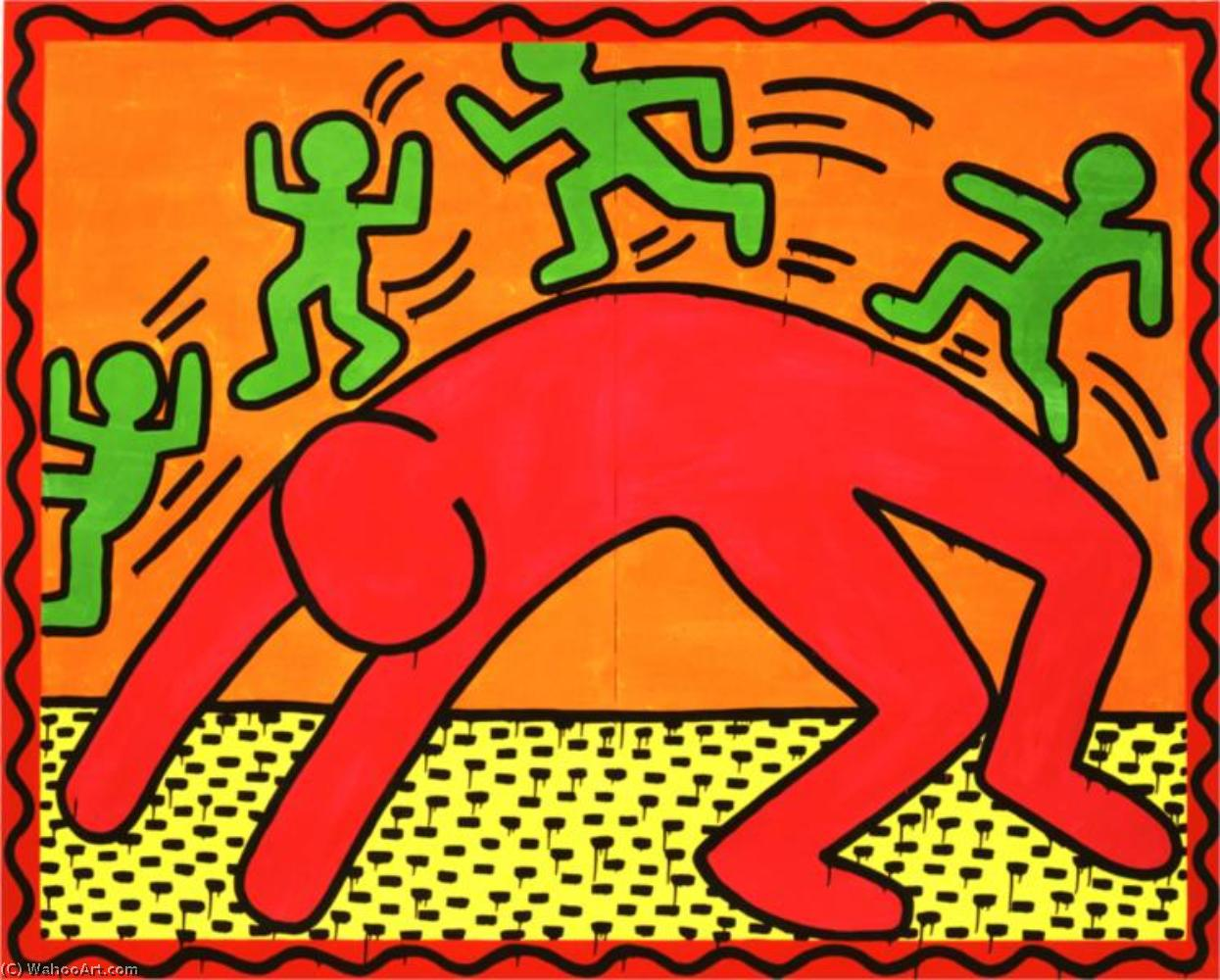 famous painting sanstitre 4   of Keith Haring