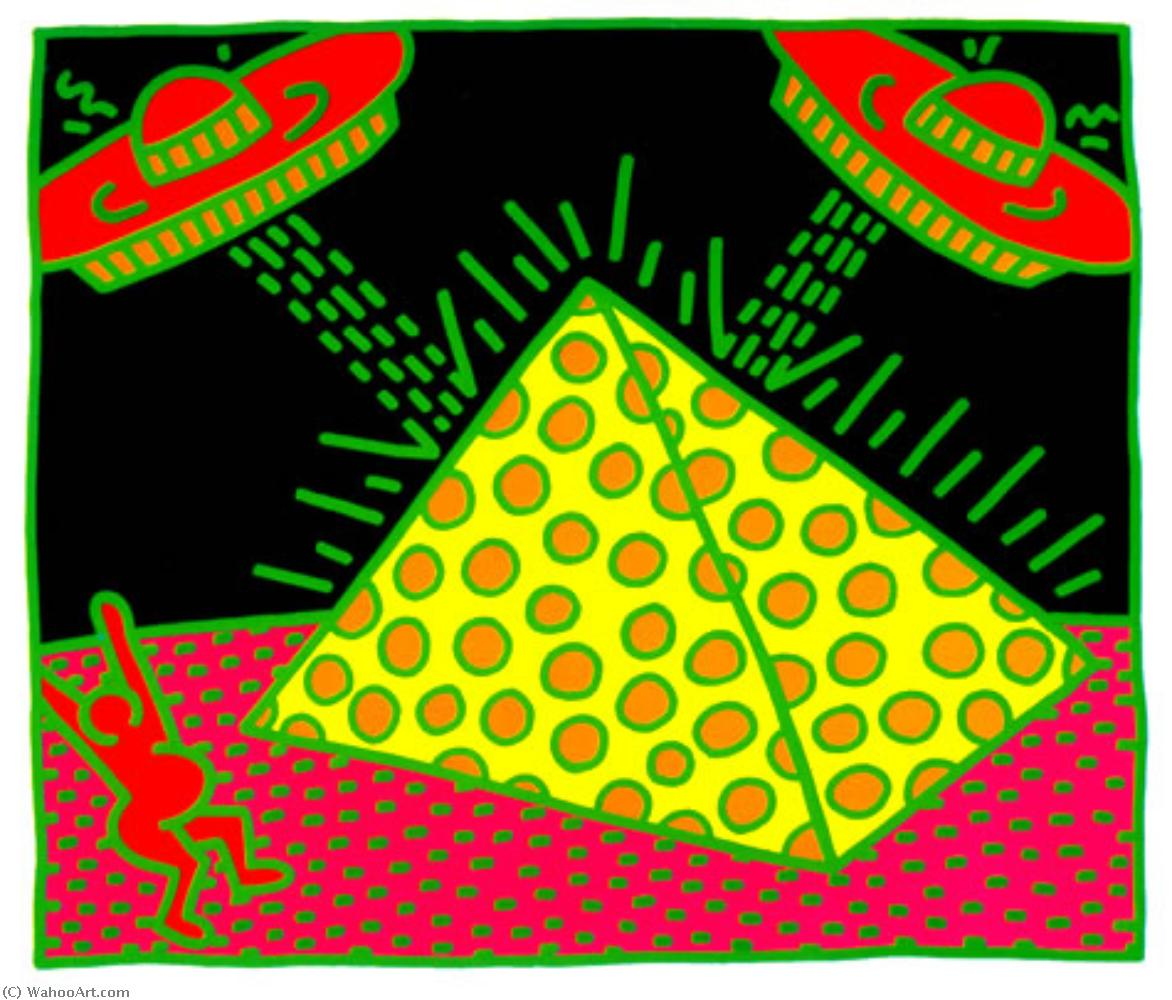 famous painting sanstitre 9   of Keith Haring