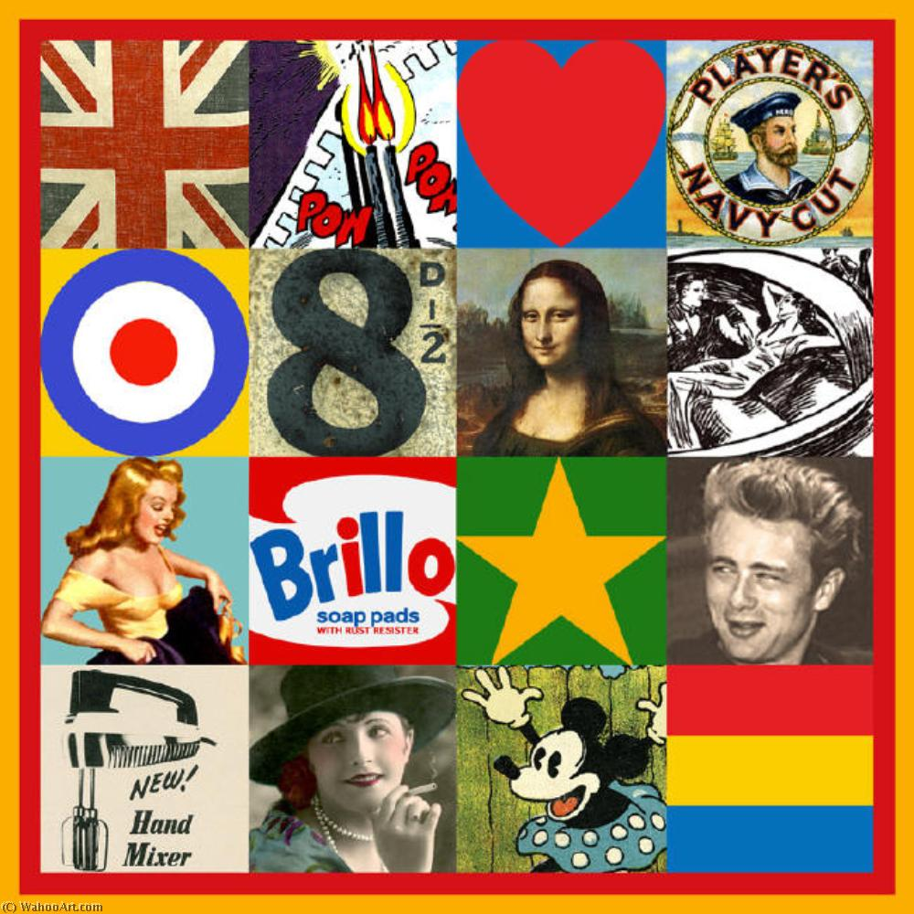 famous painting Source de Art of Peter Blake