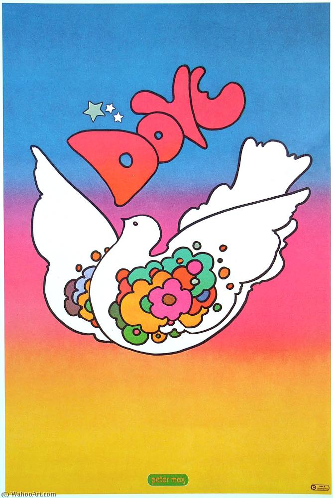 famous painting colombe of Peter Max