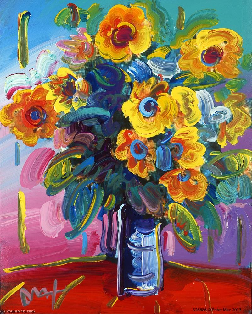 famous painting fleuris of Peter Max