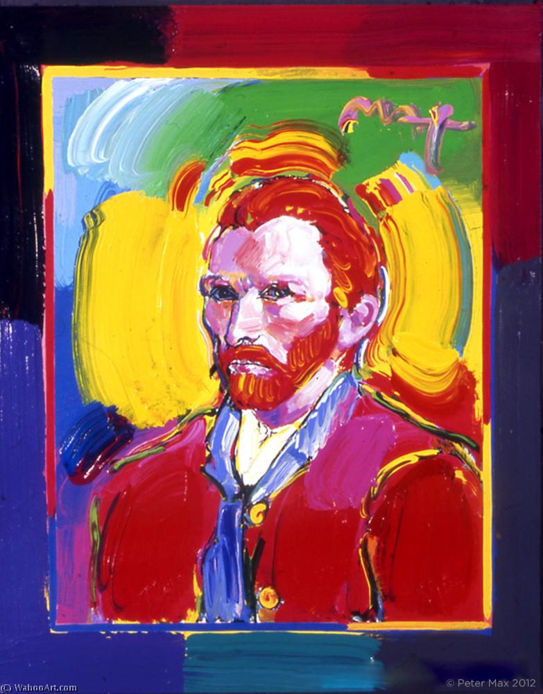 famous painting vangogh of Peter Max