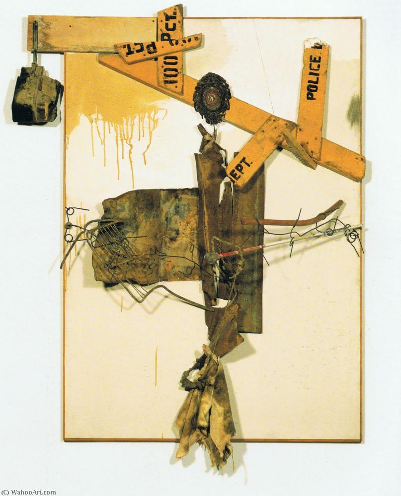 famous painting Ensemble existence of Robert Rauschenberg