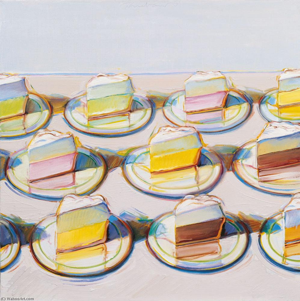 famous painting Meringues of Wayne Thiebaud