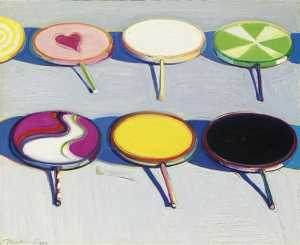 Wayne Thiebaud - Sept drageons