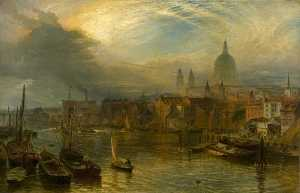 Henry Thomas Dawson - St Paul's , Londres