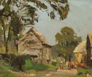 Albert Ernest Bottomley - une ferme route
